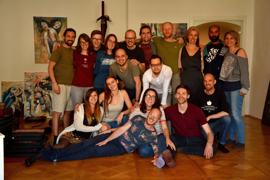 Radical Honesty workshop Linz April 2018 group
